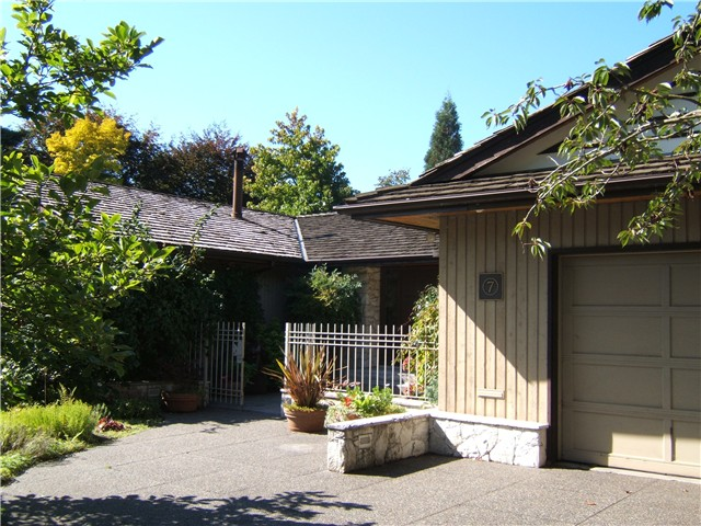 Main Photo: 7 TAMATH in Vancouver: University VW House for sale (Vancouver West)  : MLS®# V854303