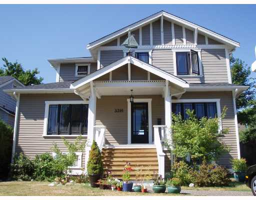 Main Photo: 3391 W 40TH Avenue in Vancouver: Dunbar House for sale (Vancouver West)  : MLS® # V723510
