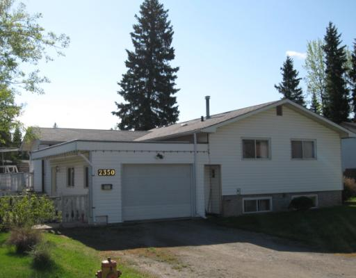 "Main Photo: 2350 WEBBER in Prince_George: Pinewood House for sale in ""PINEWOOD"" (PG City West (Zone 71))  : MLS®# N192240"