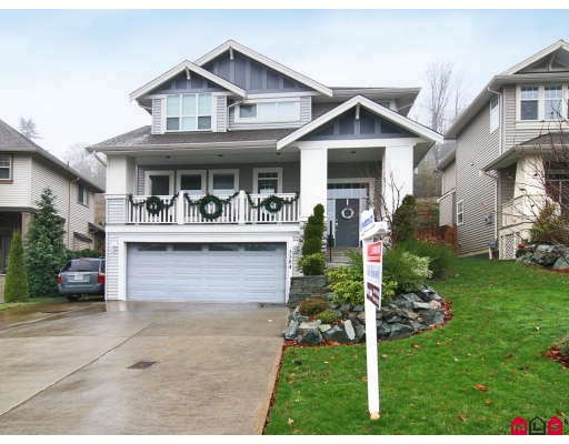 "Main Photo: 3384 BLOSSOM Court in Abbotsford: Abbotsford East House for sale in ""THE HIGHLANDS"" : MLS®# F2828575"