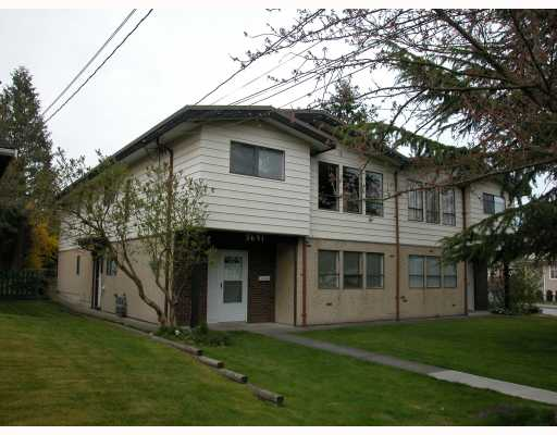 Main Photo: 5691- 5693 NEVILLE Street in Burnaby: South Slope House Duplex for sale (Burnaby South)  : MLS® # V763510