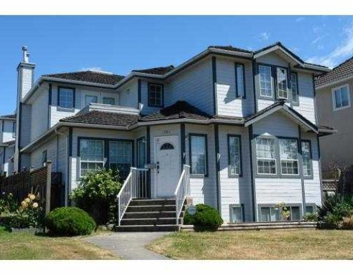 Main Photo: 1805 ISLAND Avenue in Vancouver: Fraserview VE House for sale (Vancouver East)  : MLS® # V797281