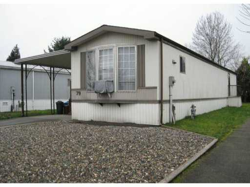 "Main Photo: 79 145 KING EDWARD Street in Coquitlam: Maillardville Manufactured Home for sale in ""MILL CREEK VILLAGE"" : MLS® # V816945"