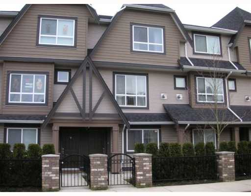 "Main Photo: 7 7333 TURNILL Street in Richmond: McLennan North Townhouse for sale in ""PALATINO"" : MLS®# V750796"