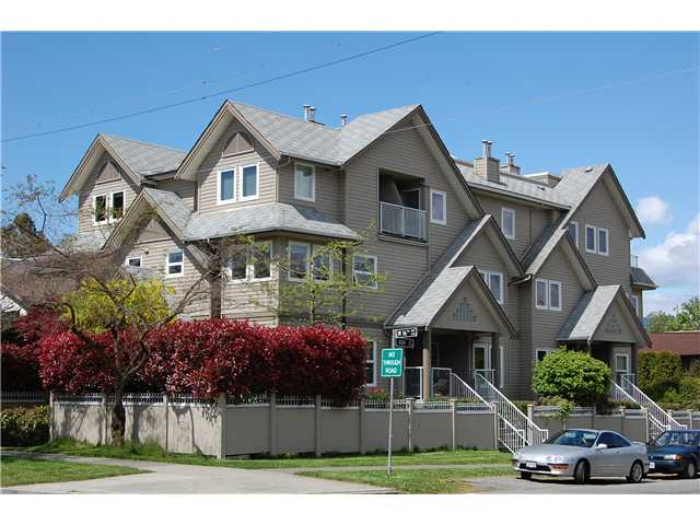 "Main Photo: 1 3189 ASH Street in Vancouver: Fairview VW Condo for sale in ""FAIRVIEW"" (Vancouver West)  : MLS®# V828474"