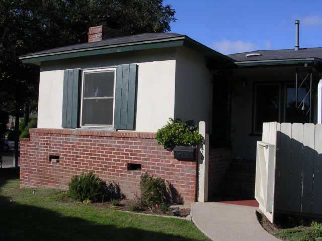 Main Photo: POINT LOMA Residential for sale : 3 bedrooms : 3776 Jennings Street in San Diego