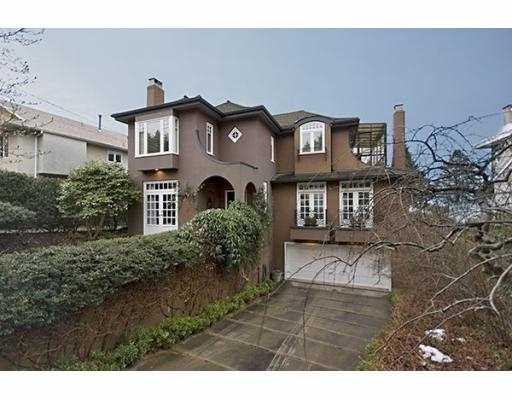 Main Photo: 4677 SIMPSON Avenue in Vancouver: Point Grey House for sale (Vancouver West)  : MLS® # V755336