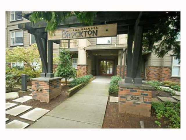"Main Photo: 116 808 SANGSTER Place in New Westminster: The Heights NW Condo for sale in ""THE BROCKTON"" : MLS®# V814914"