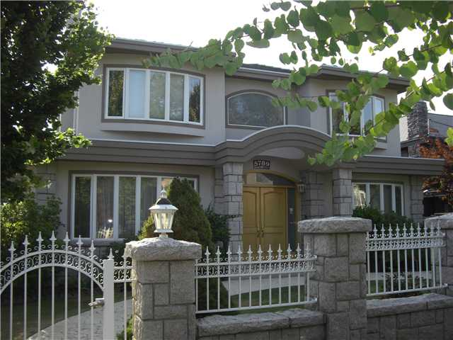 Main Photo: 5789 CARTIER Street in Vancouver: South Granville House for sale (Vancouver West)  : MLS® # V845274