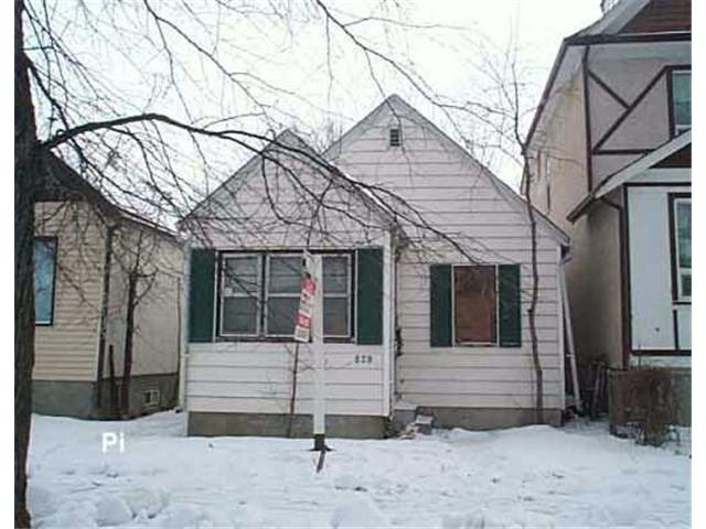 Main Photo: 829 ASHBURN Street in WINNIPEG: West End / Wolseley Residential for sale (West Winnipeg)  : MLS(r) # 2518887