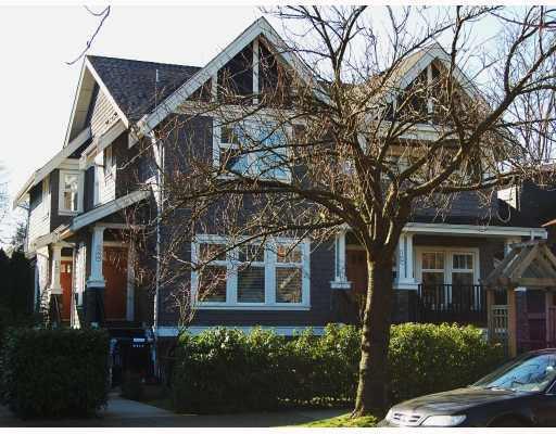 "Main Photo: 166 W 14TH Avenue in Vancouver: Mount Pleasant VW Townhouse for sale in ""HALLHAUS"" (Vancouver West)  : MLS®# V811944"