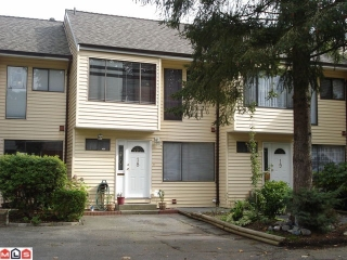 "Main Photo: 18 9324 128TH Street in Surrey: Queen Mary Park Surrey Townhouse for sale in ""Surrey Meadows"" : MLS®# F1025456"