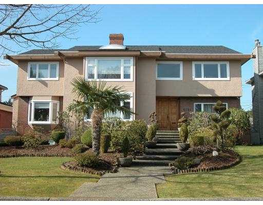 Main Photo: 6761 SELKIRK Street in Vancouver: South Granville House for sale (Vancouver West)  : MLS® # V764706