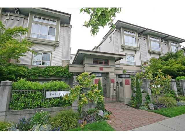 "Main Photo: 30 2375 W BROADWAY in Vancouver: Kitsilano Townhouse for sale in ""TALIESIN"" (Vancouver West)  : MLS®# V834617"