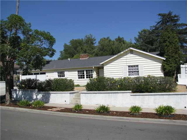 Main Photo: EL CAJON House for sale : 3 bedrooms : 255 Garden Grove