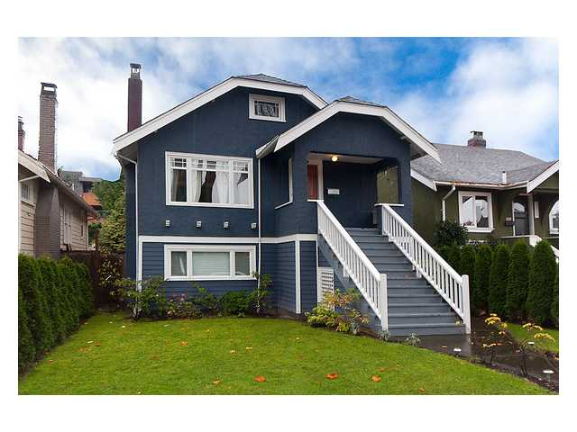 Main Photo: 3323 W 10TH Avenue in Vancouver: Kitsilano House for sale (Vancouver West)  : MLS®# V859119