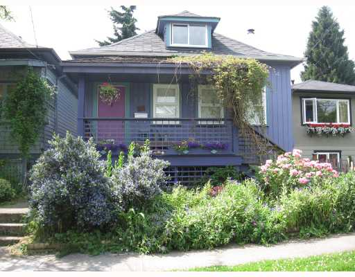 Main Photo: 448 E 28TH Avenue in Vancouver: Fraser VE House for sale (Vancouver East)  : MLS®# V720700