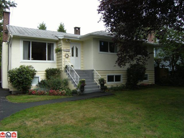 "Main Photo: 11123 BEVERLY Drive in Delta: Nordel House for sale in ""ANNIEVILLE"" (N. Delta)  : MLS(r) # F1024092"