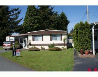 "Main Photo: 40 31313 LIVINGSTONE Avenue in Abbotsford: Abbotsford West Manufactured Home for sale in ""PARADISE PARK"" : MLS® # F2911740"