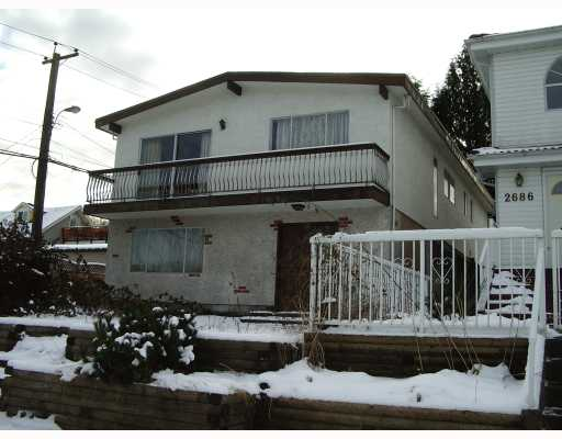 Main Photo: 2696 E 18TH Avenue in Vancouver: Renfrew Heights House for sale (Vancouver East)  : MLS® # V750232