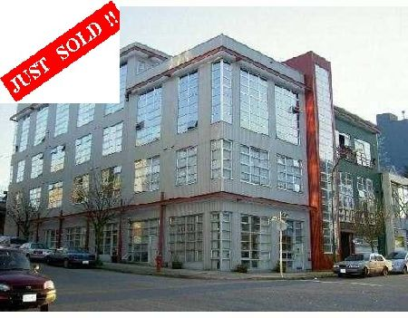 Main Photo: #105 - 272 East 4th Avenue, VANCOUVER: Condo for sale (Mount Pleasant VE)