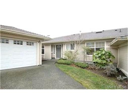 Main Photo: 8 4383 Torquay Drive in VICTORIA: SE Gordon Head Townhouse for sale (Saanich East)  : MLS®# 223428