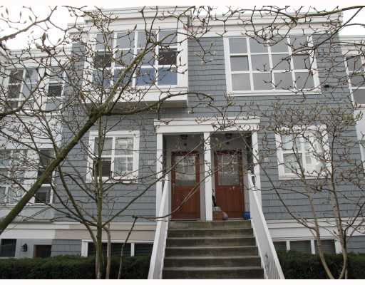 "Main Photo: 203 669 W 7TH Avenue in Vancouver: Fairview VW Townhouse for sale in ""THE IVYS"" (Vancouver West)  : MLS®# V753312"