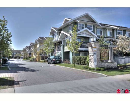 "Main Photo: 154 15236 36TH Avenue in Surrey: Morgan Creek Townhouse for sale in ""SUNDANCE"" (South Surrey White Rock)  : MLS® # F2909350"