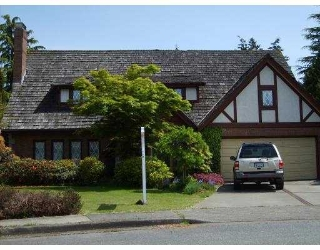 "Main Photo: 6860 WHITEOAK Drive in Richmond: Woodwards House for sale in ""PARK LANE WEST"" : MLS®# V766620"