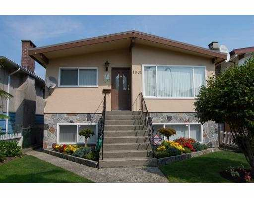 Main Photo: 1661 E 36TH Avenue in Vancouver: Knight House for sale (Vancouver East)  : MLS® # V782560