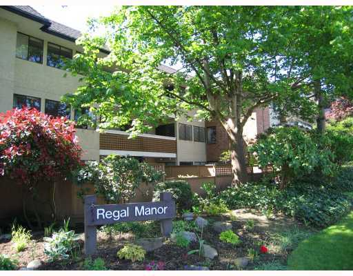 "Main Photo: 102 316 CEDAR Street in New Westminster: Sapperton Condo for sale in ""REGAL MANOR"" : MLS® # V801236"