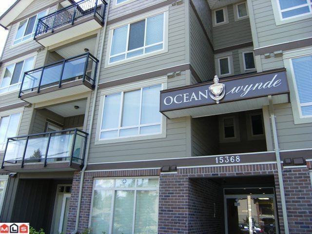 "Main Photo: 107 15368 17A Avenue in Surrey: King George Corridor Condo for sale in ""Ocean Wynde"" (South Surrey White Rock)  : MLS® # F1013181"