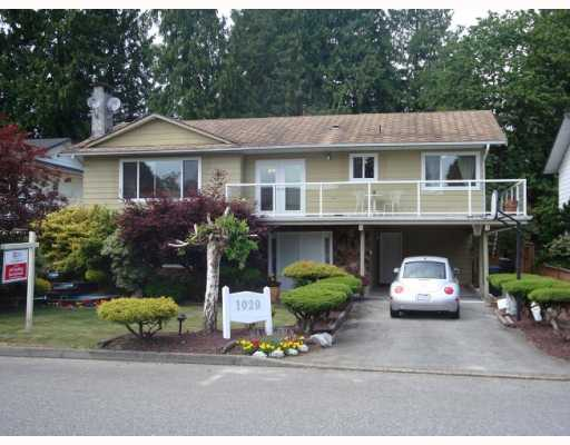 "Main Photo: 1029 MAYWOOD Avenue in Port_Coquitlam: Lincoln Park PQ House for sale in ""LINCOLN PARK"" (Port Coquitlam)  : MLS® # V771971"