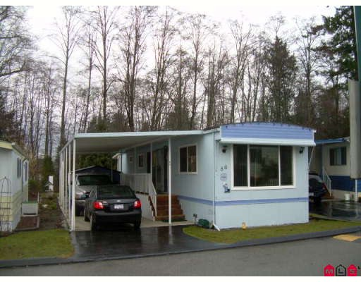 "Main Photo: 86 7850 KING GEORGE Highway in Surrey: East Newton Manufactured Home for sale in ""BEAR CREEK GLEN"" : MLS®# F2903861"