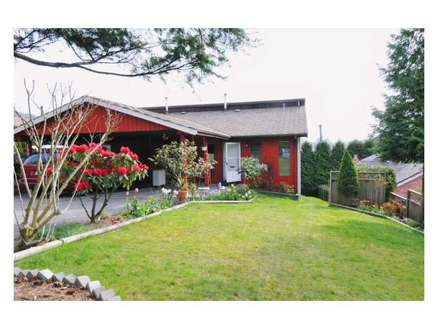 Main Photo: 1805 VIEW Street in Port Moody: Port Moody Centre House 1/2 Duplex for sale : MLS® # V829032