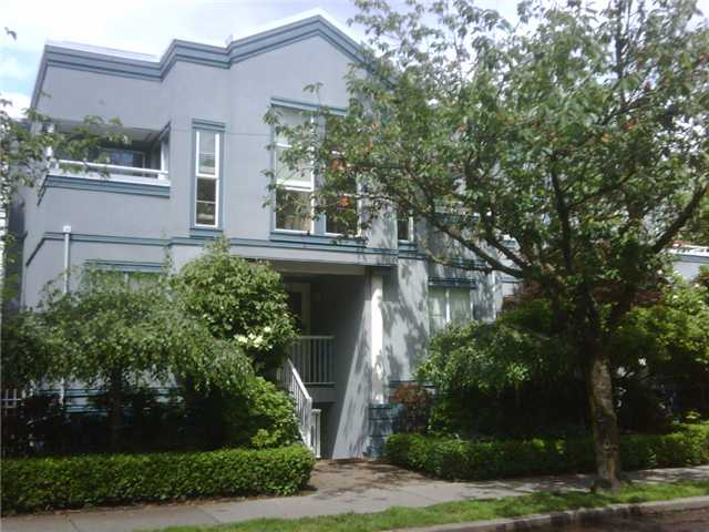 "Main Photo: 23 877 W 7TH Avenue in Vancouver: Fairview VW Townhouse for sale in ""EMERALD COURT"" (Vancouver West)  : MLS(r) # V834618"