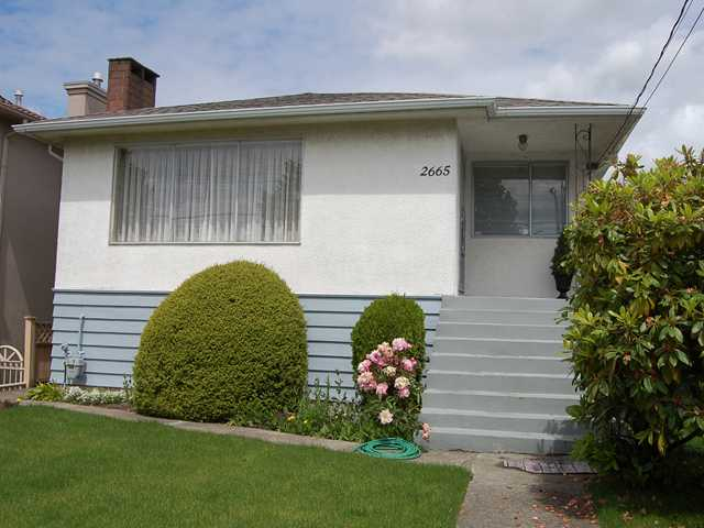 Main Photo: 2665 E 45TH Avenue in Vancouver: Killarney VE House for sale (Vancouver East)  : MLS® # V834899