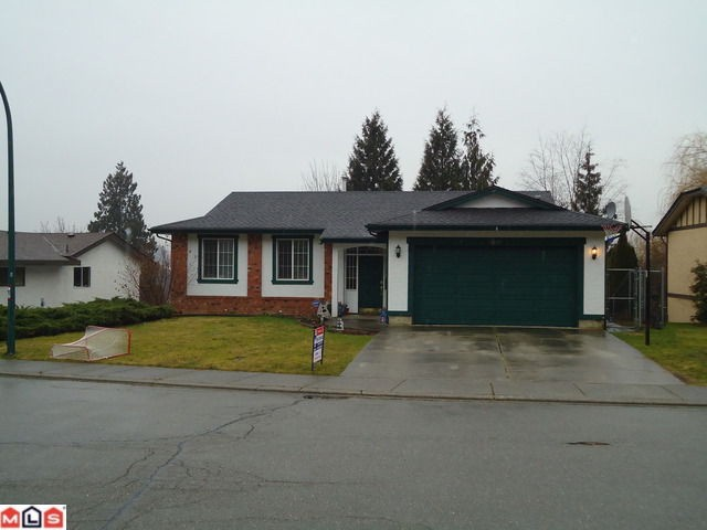 Main Photo: 2821 MCBRIDE Street in Abbotsford: Abbotsford East House for sale : MLS®# F1102923