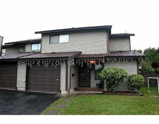 "Main Photo: 21 21550 CHERRINGTON AV in Maple Ridge: West Central Townhouse for sale in ""MAPLE RIDGE ESTATES"" : MLS®# V553612"