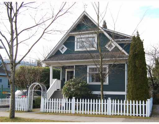 "Main Photo: 3049 ONTARIO Street in Vancouver: Mount Pleasant VW House for sale in ""MOUNT PLEASANT"" (Vancouver West)  : MLS(r) # V753820"