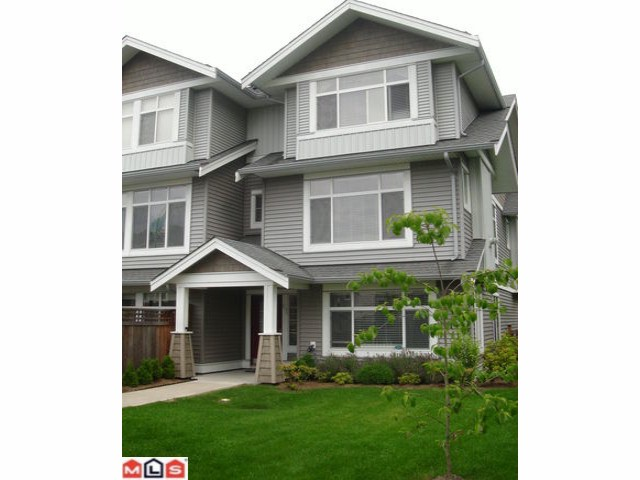 "Main Photo: 61 19330 69TH Avenue in Surrey: Clayton Townhouse for sale in ""MONTEBELLO"" (Cloverdale)  : MLS® # F1018264"