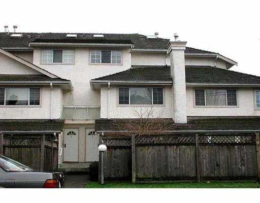Main Photo: 4 8700 BENNETT RD in Richmond: Brighouse South Townhouse for sale : MLS® # V586617