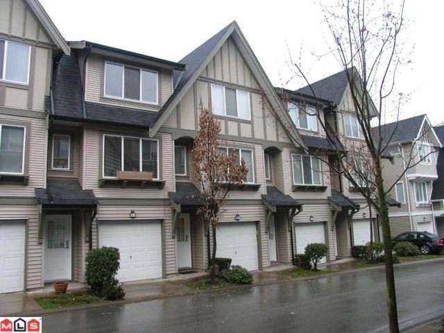 "Main Photo: 26 8775 161ST Street in Surrey: Fleetwood Tynehead Townhouse for sale in ""The Ballantyne"" : MLS® # F1007768"