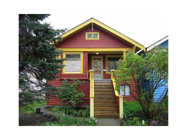 Main Photo: 420 E 17TH Avenue in Vancouver: Fraser VE House for sale (Vancouver East)  : MLS®# V826685
