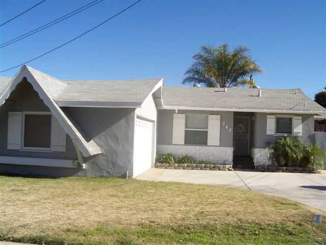 Main Photo: EL CAJON House for sale : 3 bedrooms : 747 Wichita Ave