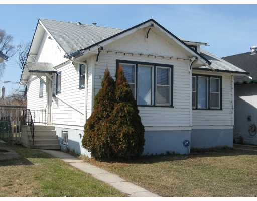 Main Photo: 990 GARFIELD Street North in WINNIPEG: West End / Wolseley Residential for sale (West Winnipeg)  : MLS(r) # 2905782