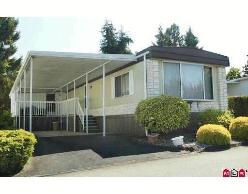 Main Photo: 73 15875 20TH Avenue in Surrey: King George Corridor Manufactured Home for sale (South Surrey White Rock)  : MLS(r) # F2916340