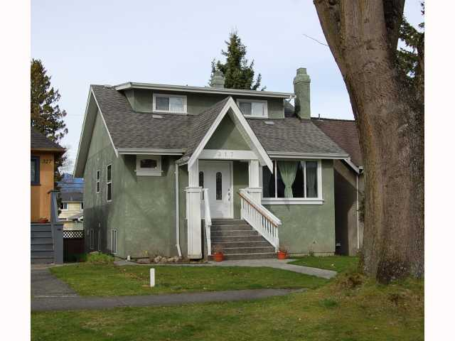 "Main Photo: 317 W 22ND Avenue in Vancouver: Cambie House for sale in ""CAMBIE VILLAGE"" (Vancouver West)  : MLS® # V817335"
