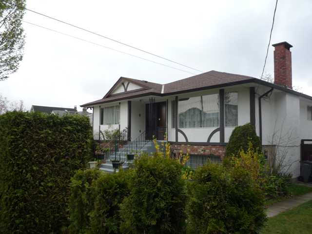 Main Photo: 5793 ST GEORGE Street in Vancouver: Fraser VE House for sale (Vancouver East)  : MLS® # V823858