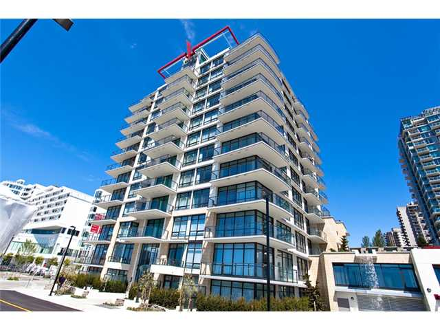 "Main Photo: 1104 162 VICTORY SHIP Way in North Vancouver: Lower Lonsdale Condo for sale in ""ATRIUM WEST AT THE PIER"" : MLS® # V857807"